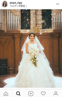 ゆきぽよ、ウエディングドレス姿を公開 「綺麗すぎる」「天使」と反響集まる(スポーツ報知)