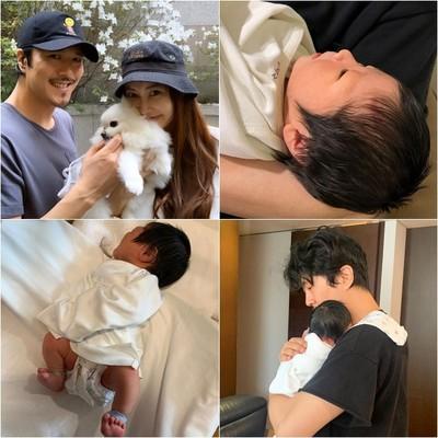 「毛量1番!!!」 ヤン・ミラ、生後4日の息子の近況報告(朝鮮日報日本語版)