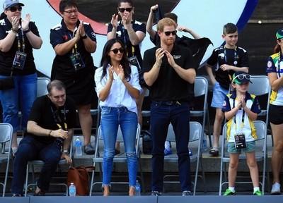 2ショットを披露! ハリー王子&メーガン・マークルがインヴィクタス・ゲームを一緒に観戦(ELLEgirl)